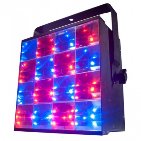 adj freq matrix quad stage blinder strobe hire