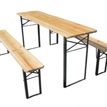 furniture table and bench set hire