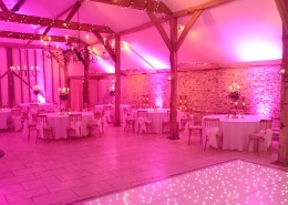 upwaltham barns uplighters hire