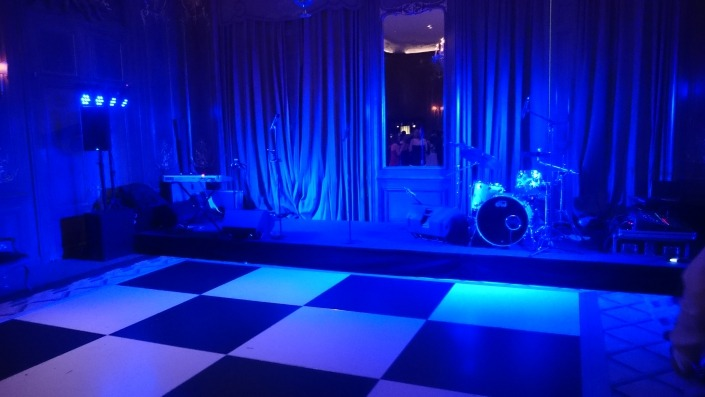 band pa hire and production at Londons claridges