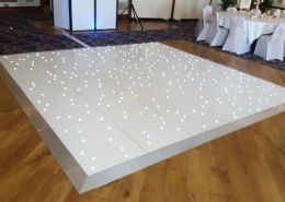 white led dancefloor hire at royal beach hotel southsea