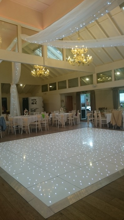 dancefloor and drapes hire marwell hotel winchester