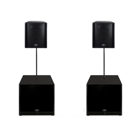 Peavey Eurosys Subs Tops