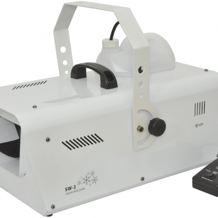 white 1200w snow machine qtc sw 2