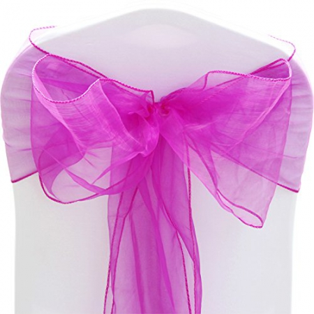 Persian Pink CHair Sash