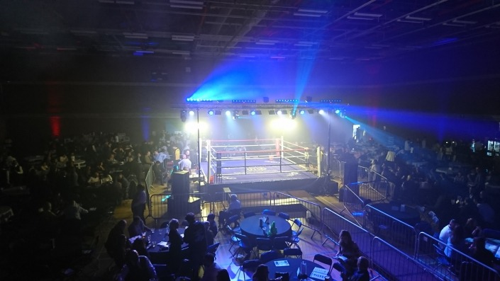 Oakley Waterman Caravan Foundation Mountbattern Center Portsmouth Boxing Event Sat 31st March 2018 main image