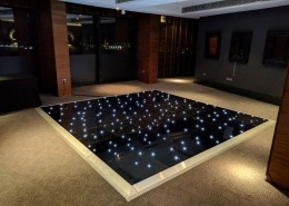 aviator hotel farnborough black led dancefloor