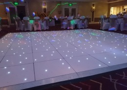 white led dancefloor at the portsmouth marriott hotel