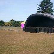10m stage canopy and deck