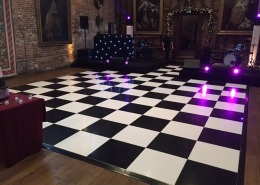 Hatfiled House stage and Dance floor