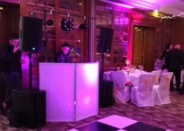 hilton double tree chilworth dj setup