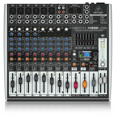 Behringer Xenyx 1222fx 12 Channel Mixing Desk Mixer 1