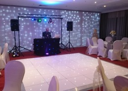 marriott portsmouth white led danefloor white twinkle backdop
