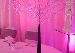 portsmouth marriott crystal tree full room draping postbox and pink uplighter e1538576678738