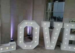 goodwood house 5ft LOVE in the Portico