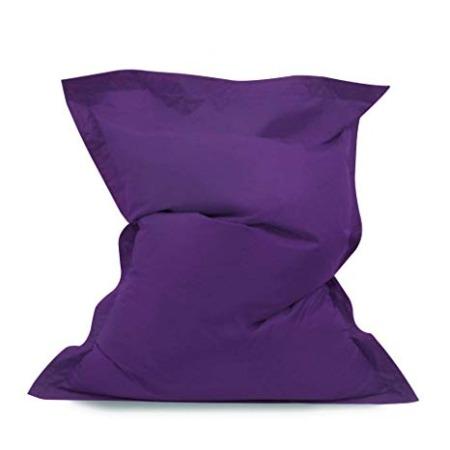 Large purple Bean Bag Beanbag 140 x 91 cm cushion